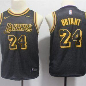 Youth Los Angeles Lakers #24 Kobe Bryant Jersey